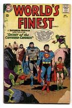 Worlds Finest #138 comic book 1963-beard Cover-batman-superman G - $22.70
