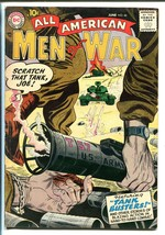 ALL-AMERICAN MEN OF WAR #46-1957-DC-WWII-TANK BUSTERS-fn+ - $93.12