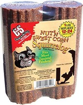 Cands Products CS611 32-Ounce Nut-FeetN Sweet Corn Squirrelog Refill - $13.35