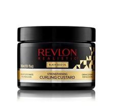 Revlon Realistic Black Seed Oil Strengthening Curling Custard 10.1oz - $12.82