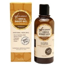 Out of Africa Shea Butter Body Oil Vanilla - $19.65