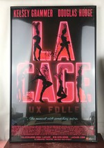 LA Cage /14 x 22 Window Card poster Broadway Signed/framed - $92.57