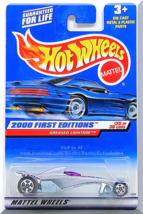 Hot Wheels - Greased Lightnin': 2000 First Editions #35/36 - Collector #095 - $2.50