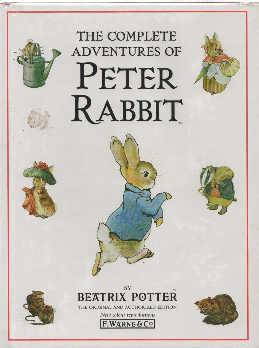 Primary image for The Complete Adventures of Peter Rabbit by Beatrix Potter NIB Book
