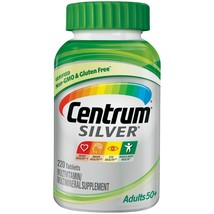 Centrum Silver Adults 50+ (220 Count) Multivitamin / Multimineral Supplement..+ - $39.99