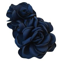 The Simulation Flower Clip Hairpin Go Tire Headdress Flower(Navy) - €15,38 EUR