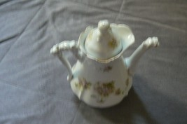 Antique/Vintage Marked Multi-Colored Floral Pattern Made in Germany Teapot - $29.69