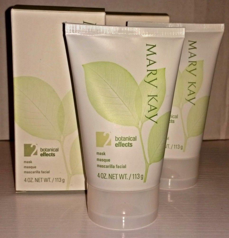 Mary Kay Botanical Effects Mask Formula 2 Expired Lot of 2 - Normal Skin