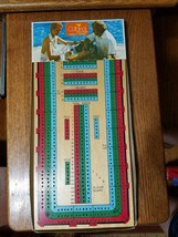 Cardinal Cribbage Board - $1.85