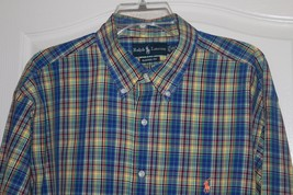 Ralph Lauren Men's Long Sleeve Shirt Size 17  1/2 X Large  Excellent Buy! - $27.71