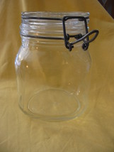 Ermetico Wire Bale Clamp Pint Canning Jar Made in Italy - $24.00