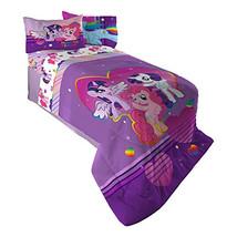Hasbro ML4398 My Little Pony Ponyfied Reversible Comforter, Twin/Full - $29.96