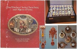 Sotheby's  New York WATCHES CLOCKS CHESS SETS OBJECTS OF VERTU October 1... - $15.84