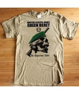 US Army Special Forces Green Beret T-Shirt De Oppresso Liber Armed Forces - $19.99+