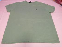 Polo By Ralph Lauren Men's short sleeve cotton t shirt green L GUC@ - $39.59