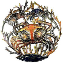 24-Inch Painted Crabs Metal Wall Art - Croix de... - $96.85 - $96.85