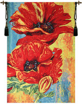 2 Poppys Tapestry Wall Hanging - $6.363,22 MXN+
