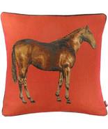 Horse Red 1 European Cushion Cover - $74.85+