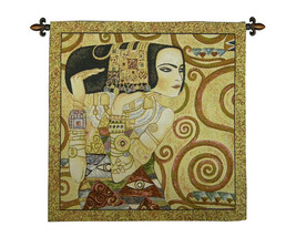 The Waited For by Klimt Tapestry Wall Hanging - $87.85+