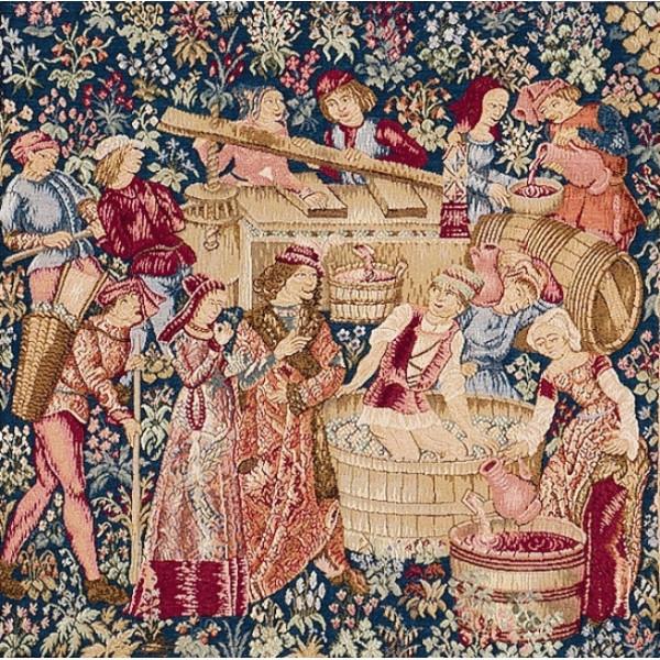 The Wine Press European Cushion