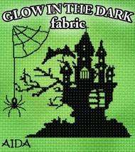 **Glow-In-The-Dark 14ct Aida 36x39 1yd cross stitch fabric Fabric Flair - $60.00