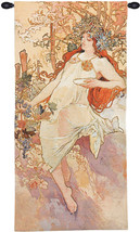 Autumn Mucha Tapestry Wall Art Hanging - $328.85