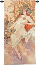 Autumn Mucha Tapestry Wall Art Hanging - $334.85