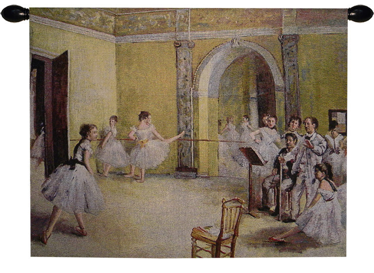 Ballerina Dance Foyer Tapestry Wall Hanging, used for sale  USA