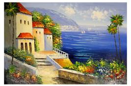 Beautiful Seascape Canvas Wall Art - $91.85+