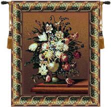Breughels Vase Dark Tapestry Wall Art Hanging - £206.67 GBP