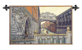 Bridge of Sighs II Italian Tapestry Wall Hanging - $121.85