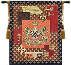Cambridge Crest Wall Hanging Tapestry - $100.85