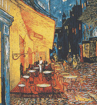 Cafe Terrace at Night European Cushion Covers - $57.85