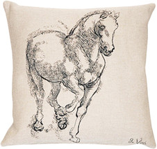 Cheval Da Vinci European Cushion - $63.85