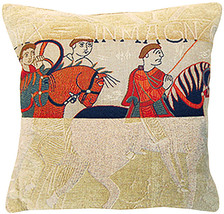 Damas Cavaliers European Cushion - $63.85