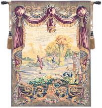 Danse Au Jardin Garden Dance European Tapestry Wall Hanging - $441.85
