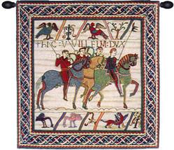 Duke William Departs 2A European Tapestry Wall Hanging - $4.464,51 MXN+