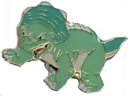 12 Pins - DINOSAUR , hat tac lapel pin #4626