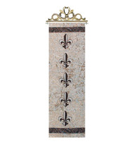 Fleur De Lis Bell Pull Tapestry Wall Hanging - $70.85+