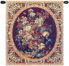 Floral Composition in Vase Burgundy Tapestry Wall Art Hanging - $1.220,37 MXN+
