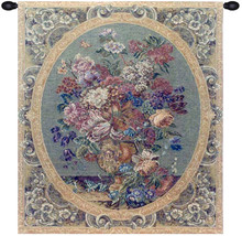 Floral Composition in Vase Cream Tapestry Wall Art Hanging - $1.243,93 MXN+