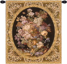 Floral Composition in Vase Dark Green Tapestry Wall Art Hanging - $1.220,37 MXN+