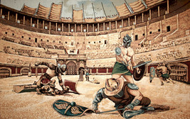 Gladiators Tapestry Wall Hanging - $119.85