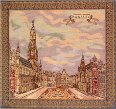 Grand Place Brussels Cushion - $51.85