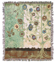 Gypsy Garden Wall Tapestry Afghans - £54.62 GBP+