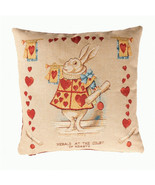 Heart Rabbit Alice In Wonderland I European Cushion Cover - $62.85