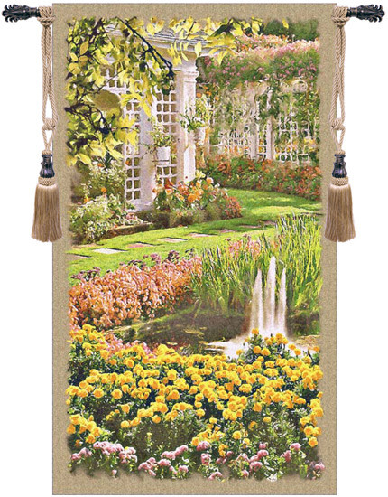 Jardin Top Tapestry Wall Hanging