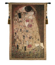 Kiss of Klimt Tapestry Wall Hanging - $1.720,75 MXN+