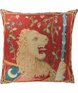 Le Lion Medieval  European Cushion - $74.85+
