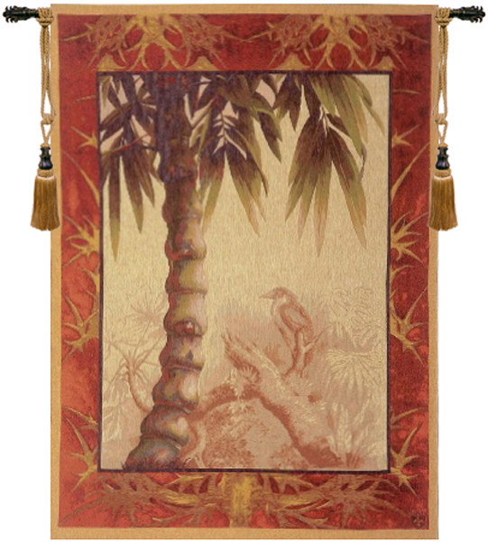 Le Palmier European Tapestry Wall Hanging